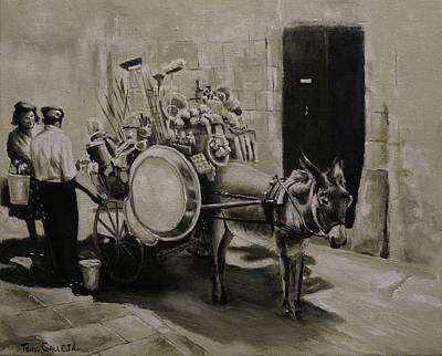 Painting - Household by Tony Calleja