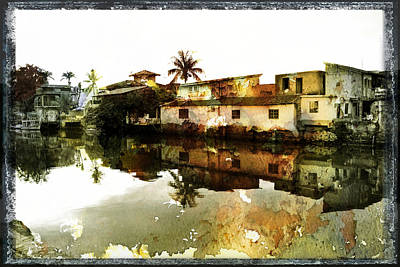 Architcture Photograph - Houses By The River by Valmir Ribeiro