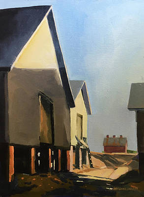 Painting - Houses by Chris Gholson