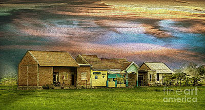 Photograph - Houses Da by Charuhas Images