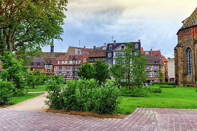 Photograph - Houses In Colmar, Alsace, France by Elenarts - Elena Duvernay photo
