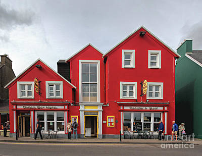 Photograph - Houses In Dingle by Joerg Lingnau