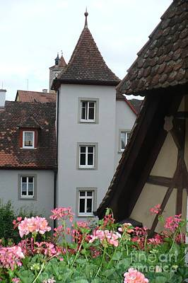 Photograph - Houses In Rothenburg by Carol Groenen
