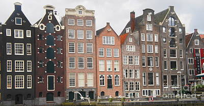 Photograph - Houses Of Amsterdam by Therese Alcorn