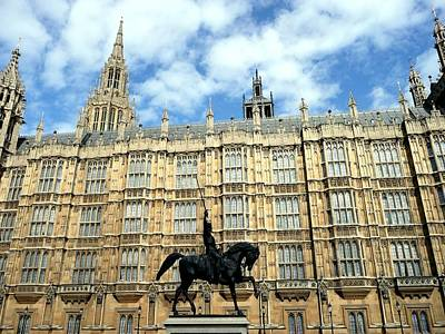 Houses Of Parliament Art Print by Dmytro Toptygin
