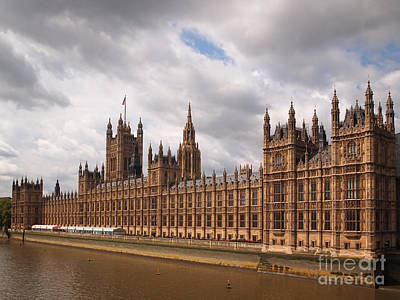 Photograph - Houses Of Parliament by IPics Photography