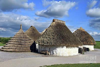 Photograph - Houses Of Stonehenge Builders by Teresa Zieba