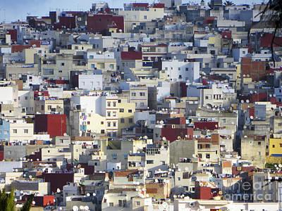 Houses Of Tangier Art Print by Christina Gupfinger