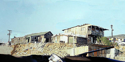 Photograph - Housing In Tijuana Mexico by Merton Allen
