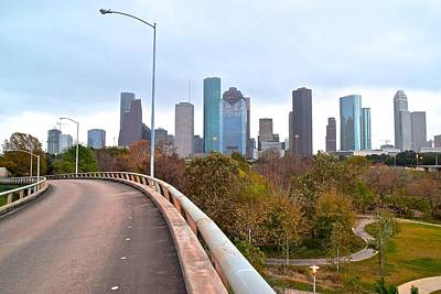 Photograph - Houston Ahead by Frozen in Time Fine Art Photography