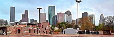 Photograph - Houston From The Hood by Frozen in Time Fine Art Photography