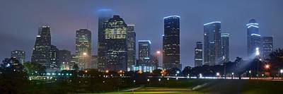 Photograph - Houston From The Park by Frozen in Time Fine Art Photography