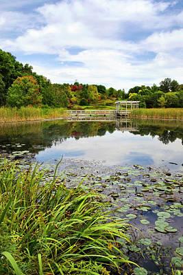 Finger Lakes Photograph - Houston Pond by Christina Rollo