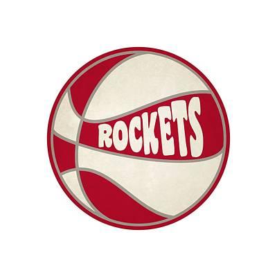 Clip Art Photograph - Houston Rockets Retro Shirt by Joe Hamilton