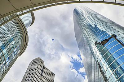Houston Skyscrapers Art Print