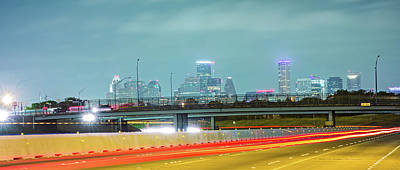 Photograph - Houston Texas Skyline And Downtown by Alex Grichenko