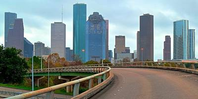 Photograph - Houston Up Ahead by Frozen in Time Fine Art Photography