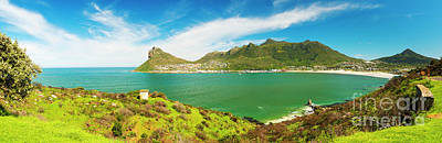 Photograph - Hout Bay Panorama by Tim Hester