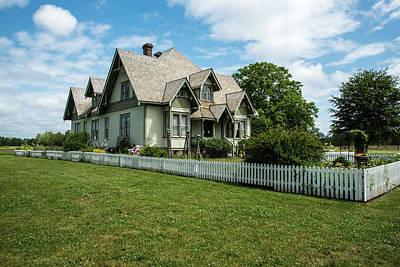 Photograph - Hovander Homestead Home by Tom Cochran