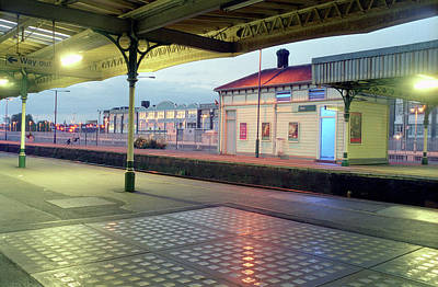 Hove Station Art Print by Nigel Chaloner