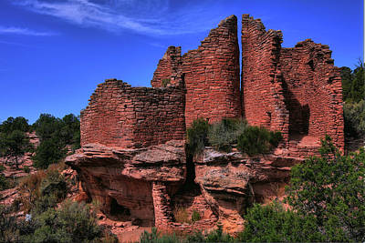 Hovenweep Art Print by Mike Flynn