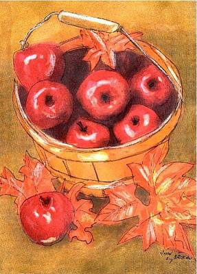 Painting - How Bout Those Apples by John Brisson
