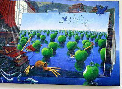 Painting - How Bout Those Apples by Michael Cranford