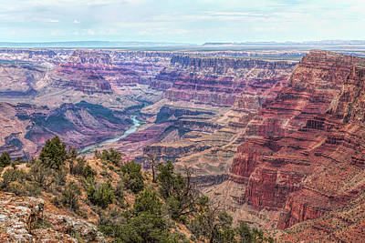 Photograph - How Deep The Canyon by John M Bailey