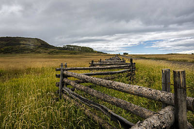 Photograph - How Fences Are Made by Jon Glaser