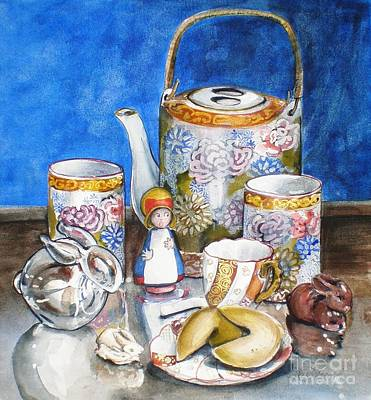 Painting - How Fortunate by Jane Loveall