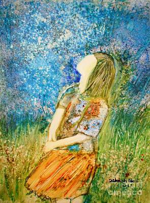 Painting - How Great Thou Art by Deborah Nell