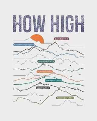 Visual Drawing - How High by Mustafa Akgul