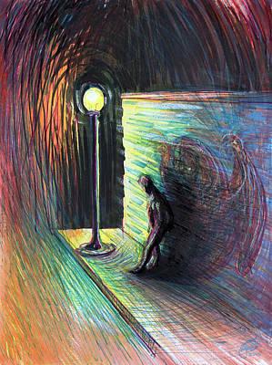 Mixed Media - How Long Must I Be Haunted? by Ryan Irish
