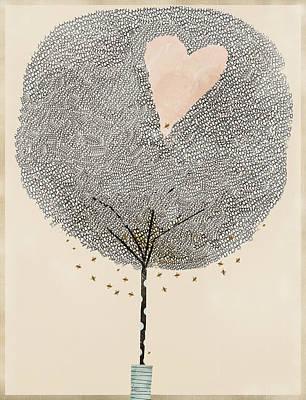 How Love Grows Art Print by Bri B