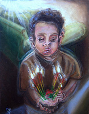Painting - How Many Candles Is That? by Kirsten Beitler