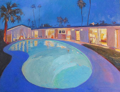 Painting - How Many Shades Of Blue by Kathleen Strukoff