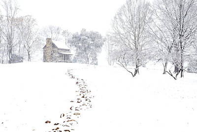 Photograph - How Many Snows? by Jim Dollar