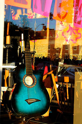 Photograph - How Much Is That Guitar In The Window by Susan Vineyard