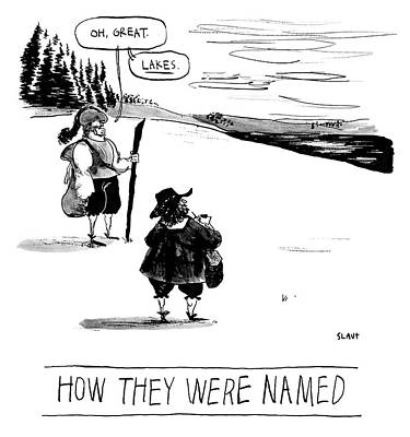 Drawing - How They Were Named by Sara Lautman