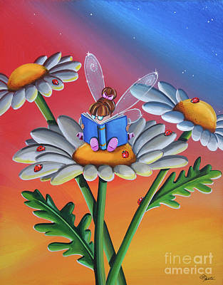 Tinkerbell Painting - How To Be A Lady #fairies by Cindy Thornton