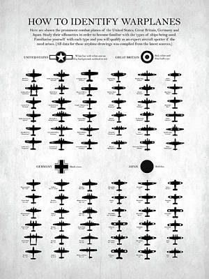Raf Photograph - How To Identify Warplanes by Mark Rogan