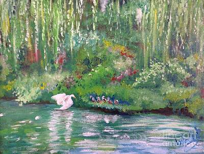 Painting - How To Swan by Isabella Shores
