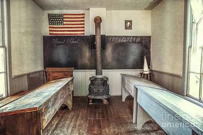 Photograph - Howard School by Lynn Sprowl