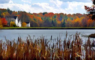 Photograph - Howards Lake by Sam Davis Johnson