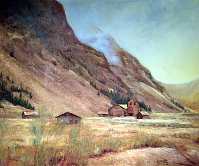 Howardsville Colorado Art Print by Evelyne Boynton Grierson