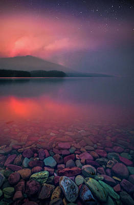 Photograph - Howe Ridge Fire / Lake Mcdonald 2018 / Glacier National Park by Nicholas Parker