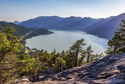 Photograph - Howe Sound And The Sea To Sky Highway by Pierre Leclerc Photography