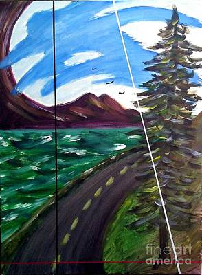 Painting - Howe Sound Bc by John Lyes