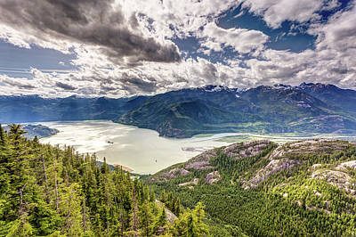 Photograph - Howe Sound Landscape by Pierre Leclerc Photography