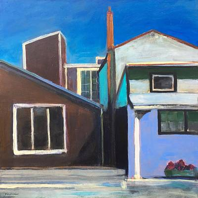 Provincetown Painting - Howland Street by Marc Kundmann
